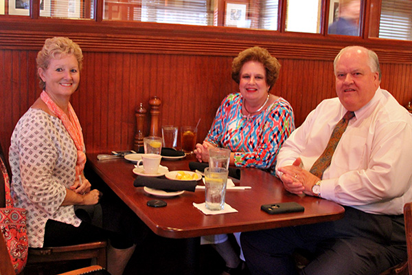 Here's our other table with Mr. Steve, Mrs. Pam, and Cool Debbie