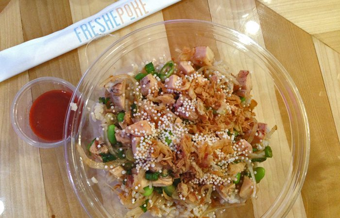 Sunday Lunch Blog : Freshe Poke