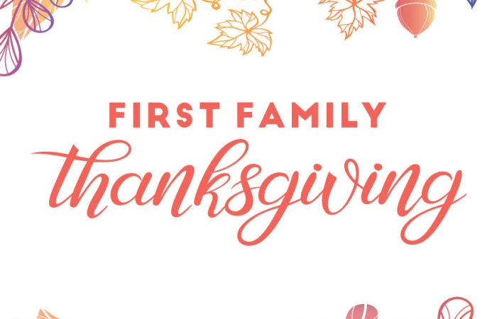 First Family Thanksgiving