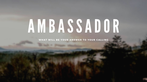 Ambassador; it's more than just a title